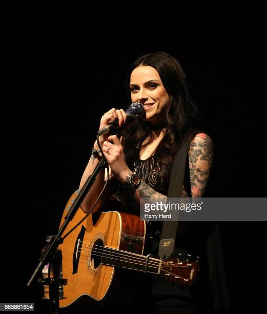 Amy Macdonald performs at Pavilion Theatre on April 2 2017 in Bournemouth England