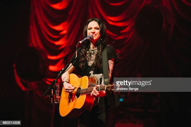 Amy Macdonald performs at the Barbican on March 29 2017 in York United Kingdom
