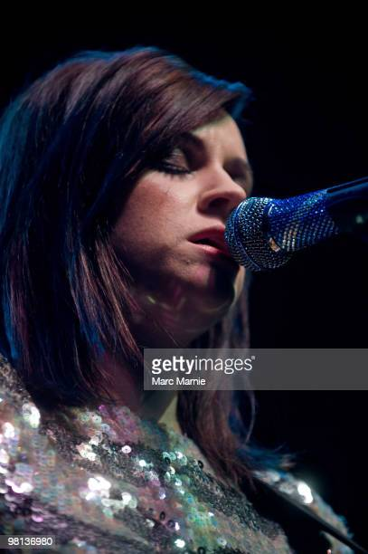 Amy MacDonald performs at The Picture House on March 29, 2010 in Edinburgh, Scotland.