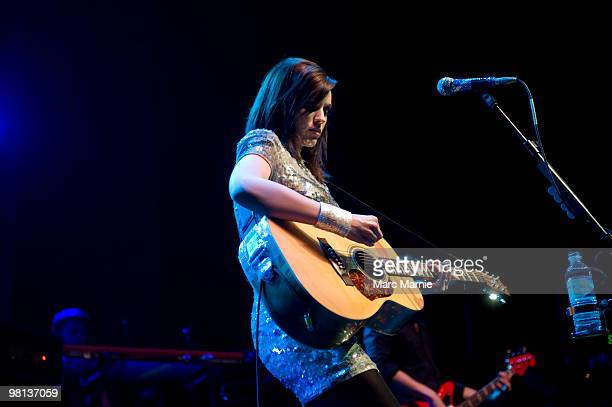Amy MacDonald performs at The Picture House on March 29 2010 in Edinburgh Scotland