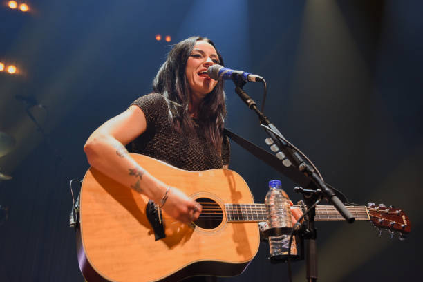 GBR: Amy MacDonald Performs At The Roundhouse, London