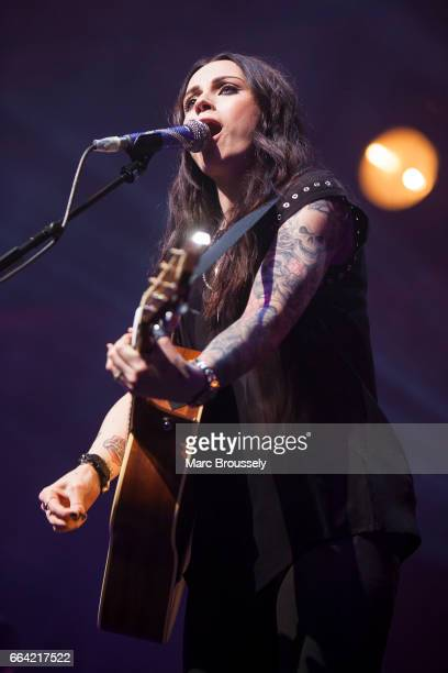 Amy Macdonald performs at the Royal Albert Hall at Royal Albert Hall on April 3 2017 in London England