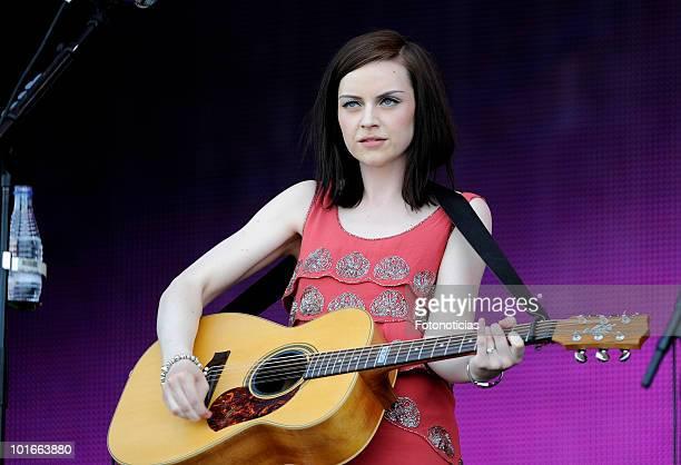 Amy MacDonald performs during Rock in Rio Madrid 2010 at the Ciudad del Rock on June 6 2010 in Arganda del Rey Spain