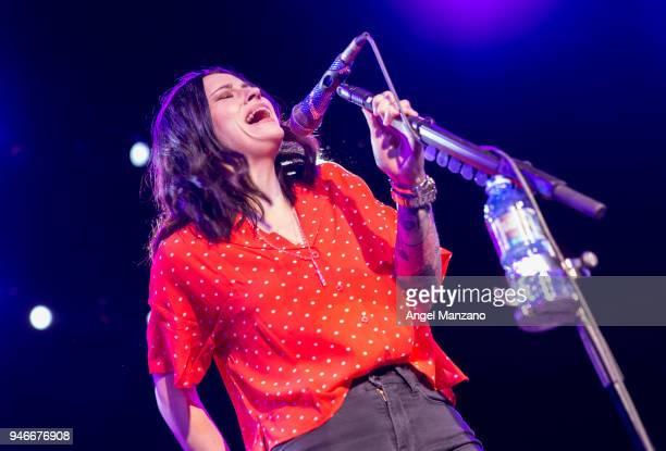 Amy Macdonald performs in concert at La Riviera on April 15 2018 in Madrid Spain