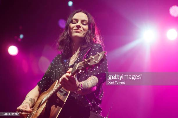 Amy Macdonald performs in concert at Razzmatazz during the Room Festival on April 14 2018 in Barcelona Spain