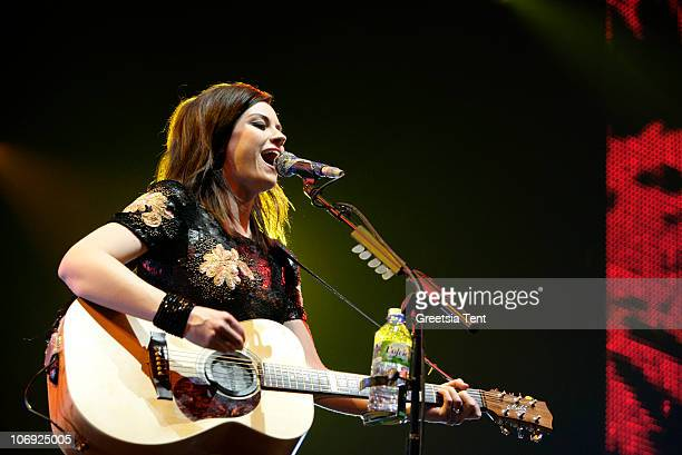Amy MacDonald performs live at Heineken Music Hall on November 16 2010 in Amsterdam Netherlands