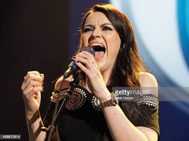 Amy Macdonald performs on stage as part of an evening of The Who music in aid of Teenage Cancer Trust at O2 Shepherd's Bush Empire on November 11...