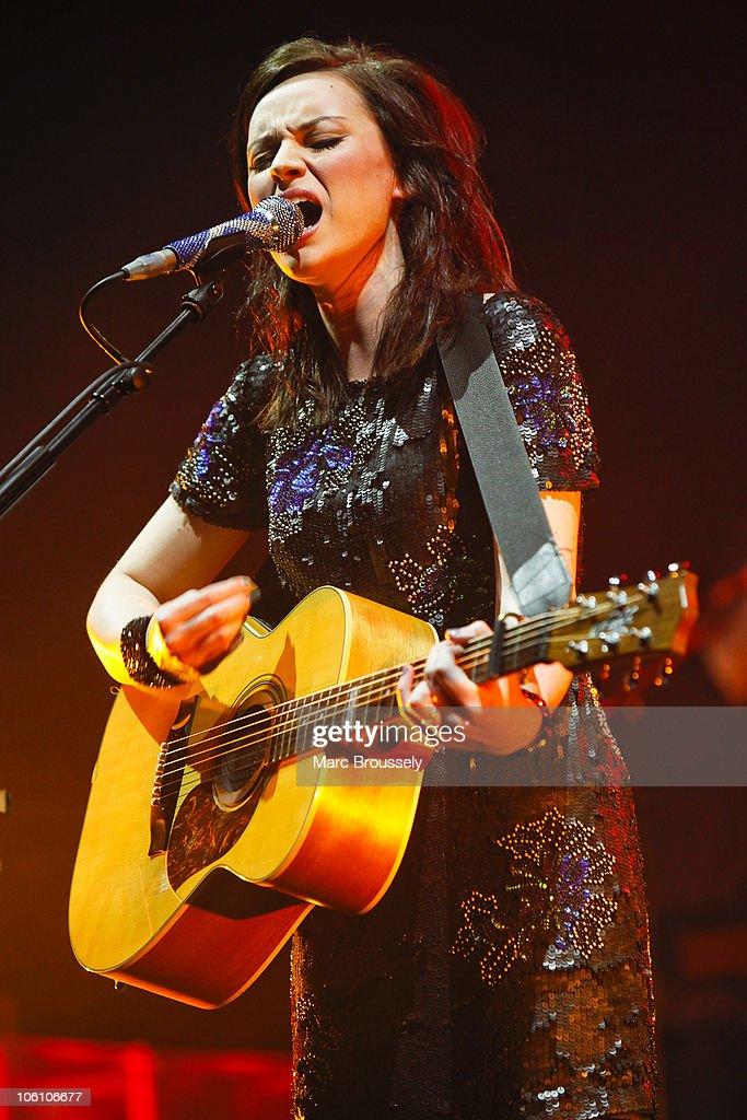 Amy MacDonald Performs At Hammersmith Apollo : News Photo