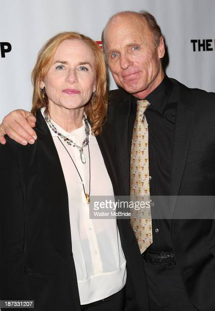 Amy Madigan and Ed Harris attend The Jacksonian opening night after party at KTCHN Restaurant on November 7 2013 in New York City