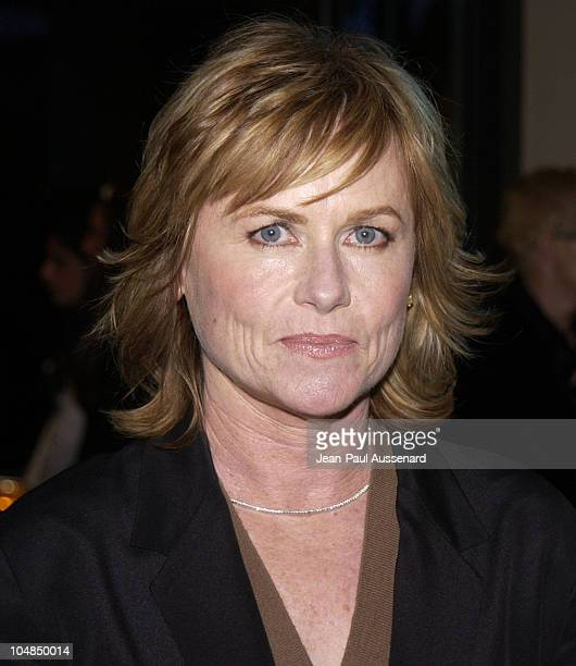 Amy Madigan during Fourth Annual Hollywood Makeup Artists and Hairstylists Guild Awards at Beverly Hilton Hotel in Beverly Hills California United...