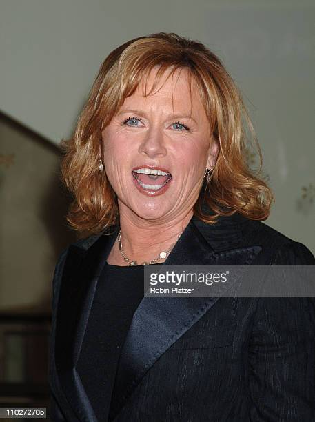Amy Madigan during Jessica Lange Honored by the Film Society of Lincoln Center April 17 2006 at Avery Fisher Hall in New York City New York United...