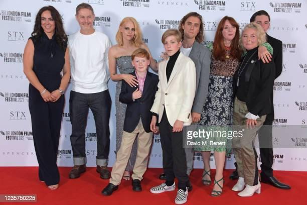 Amy Manson, Sean Harris, Kristen Stewart, Freddie Spry, Jack Nielen, Jack Farthing, Elizabeth Berrington, Stella Gonet and James Harkness attend the...