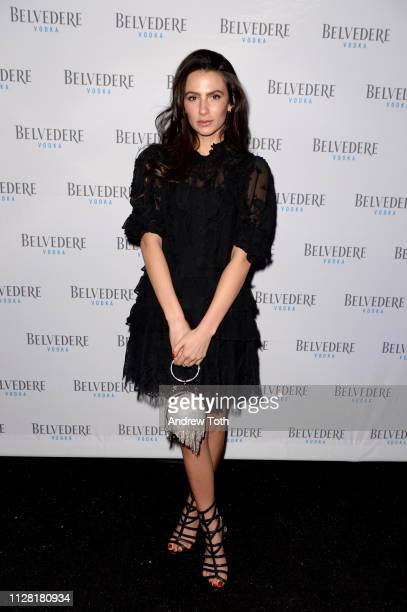 Amy Marietta attends Belvedere Vodka Celebrates Michael B Jordan's Cinema Vanguard Award at the 34th annual Santa Barbara International Film Festival...