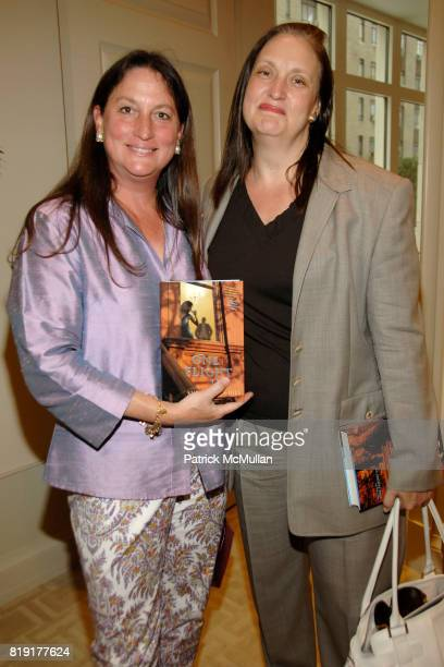 Amy Mazzola Flynn and Alison Mazzola attend Susan FalesHill's ONE FLIGHT UP Book Launch Party at 15 Central Park West on July 21st 2010 in New York...