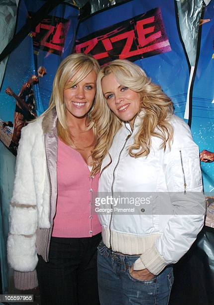 Amy McCarthy and Jenny McCarthy during 2005 Sundance Film Festival Rize After Party at The Gateway Center in Park City Utah United States