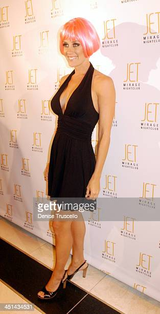 Amy McCarthy during Jenny McCarthy Hosts Her Sister Amy McCarthy's Birthday Party at JET Nichtcub at The Mirage Hotel and Casino resort at JET...