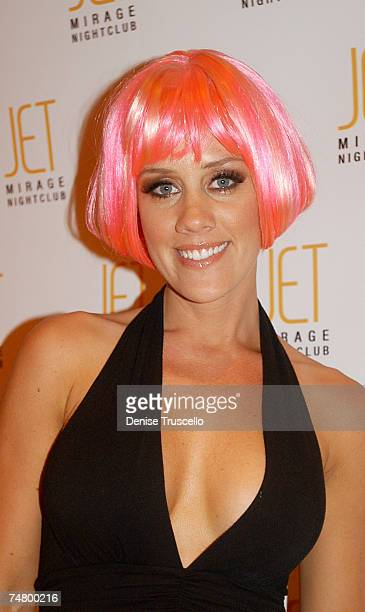 Amy McCarthy during Jenny McCarthy Hosts Her Sister Amy McCarthy's Birthday Party at JET Nichtcub at The Mirage Hotel and Casino resort at the JET...
