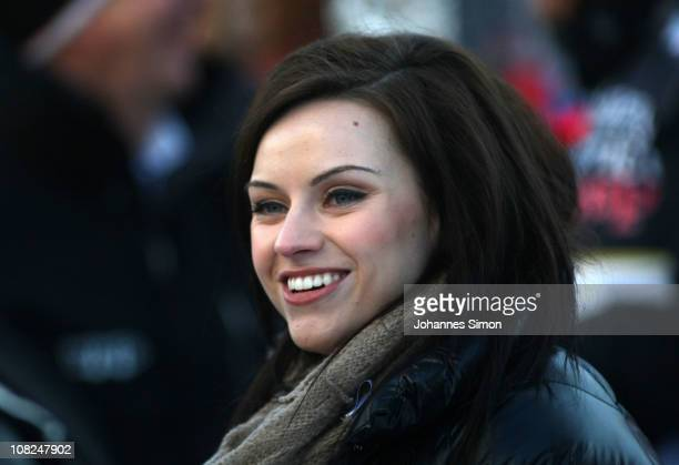 Amy McDonald attends the Kitzbuehel Celebrities Charity Race on January 22 2011 in Kitzbuehel Austria