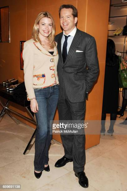 Amy McFarland and Jim Corl attend TOD'S and VOGUE Event to Benefit SAVE VENICE at TOD'S on March 11 2009 in New York