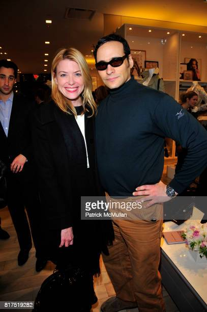 Amy McFarland and Moss Lipow attend Ann Taylor Flatiron Store Opening at Ann Taylor NYC on December 2 2010 in New York City