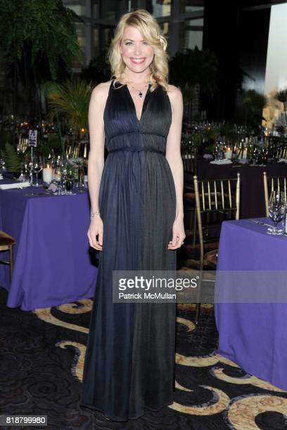 Amy McFarland attends NEW YORKERS FOR CHILDREN Spring Dinner Dance Presented by AKRIS at The Mandarin Oriental on April 8 2010 in New York City