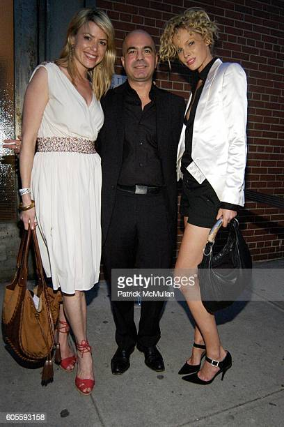 Amy McFarland Lorenzo Uras and Kate Nauta attend NINE WEST FASHION SHOW at Skylight Studios on May 31 2006 in New York City