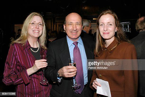 Amy McGraime Stuart Glass and Janet Geller attend LINDSAY NEWMAN WORKS Cocktail Party Hosted by Lindsay Newman Architecture and Design at...