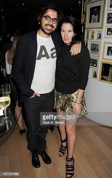 Amy Molyneaux and Laurent Belmont attend an after party following the press night performance of Damon Albarn's Dr Dee at Asia de Cuba St Martins...
