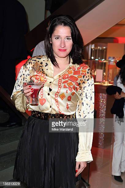 Amy Molyneaux attends the store launch of Omega Boutique Westfield Stratford City on December 8 2011 in London England