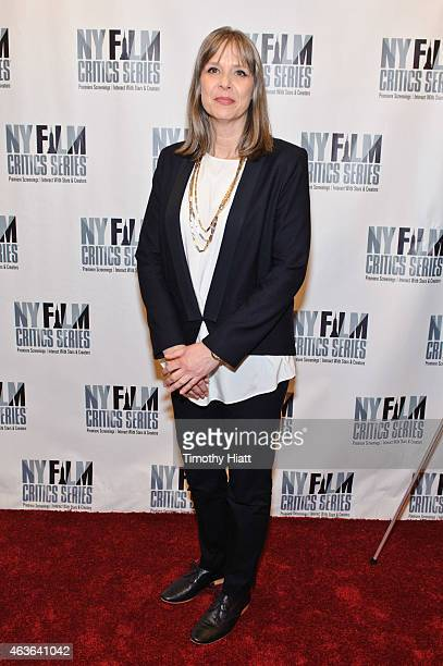 Amy Morton attends the New York Film Critics Series screening and discussion of the film 'Bluebird' at AMC Empire on February 16 2015 in New York City