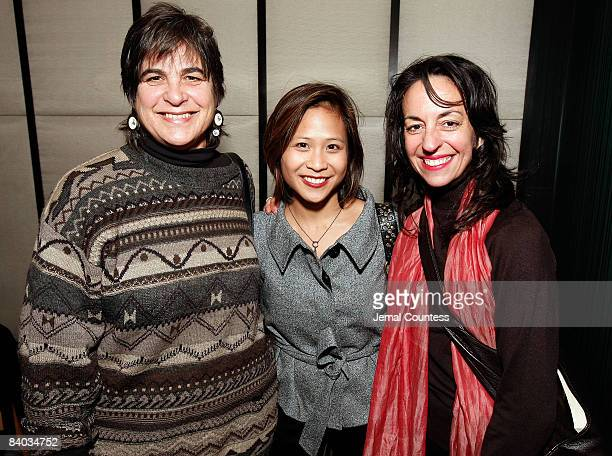 NEW YORK DECEMBER 14 Amy Mueller Artistic Director for the Playwrights Foundation May Adrales and Emily Morse Director of Artistic Development for...