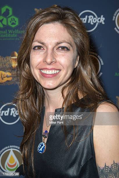 Amy Nelson attends Hard Rock International's Wille Nelson Artist Spotlight Benefit Concert at Hard Rock Cafe Times Square on June 6 2013 in New York...