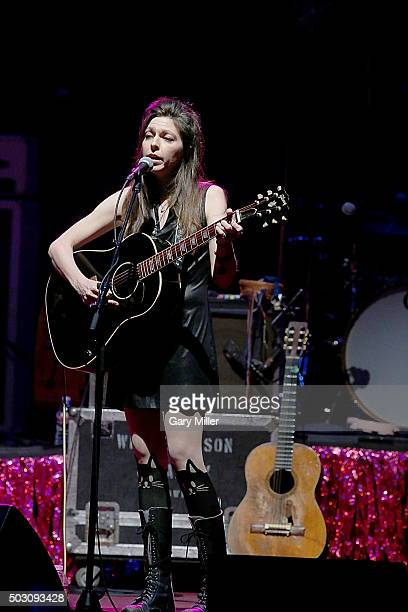 Amy Nelson performs in concert at ACL Live on December 31 2015 in Austin Texas