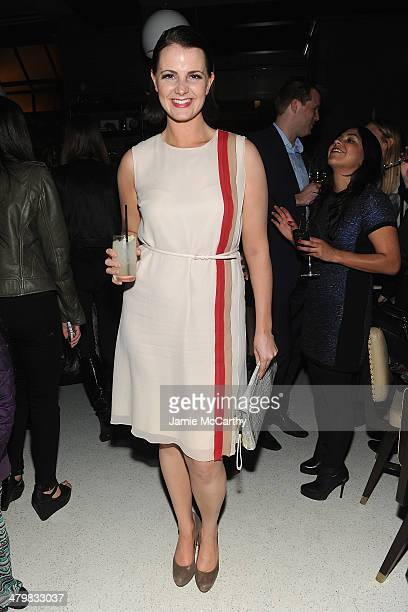 Amy Newbold attends the Marie Claire The Cinema Society screening of Summit Entertainment's 'Divergent' after party at The Wayfarer on March 20 2014...