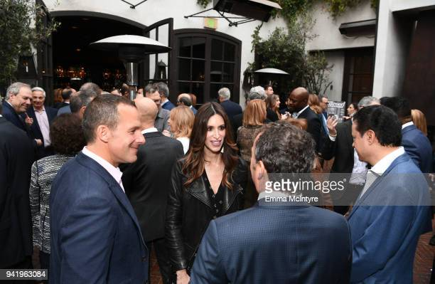 Amy Nickin of Frankfurt Kurnit Klein Selz attends The Hollywood Reporter Power Lawyers Breakfast 2018 at Spago on April 4 2018 in Beverly Hills...