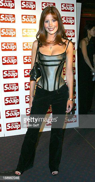 Amy Nuttall At The 2002 Inside Soap Awards In London