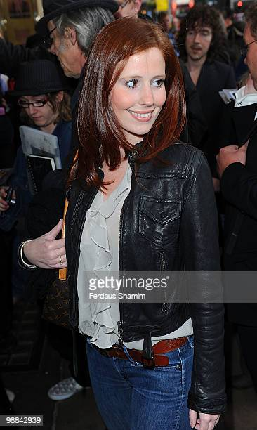 Amy Nuttall attends the press night for 'Sweet Charity' at Theatre Royal on May 4 2010 in London England