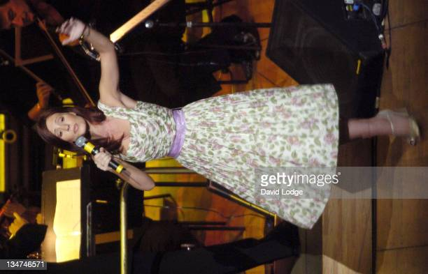 Amy Nuttall during 2004 BBC Children In Need Gala at Royal Festival Hall in London Great Britain