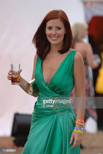 Amy Nuttall during Cartier International Polo July 30 2006 at Windsor in London Great Britain