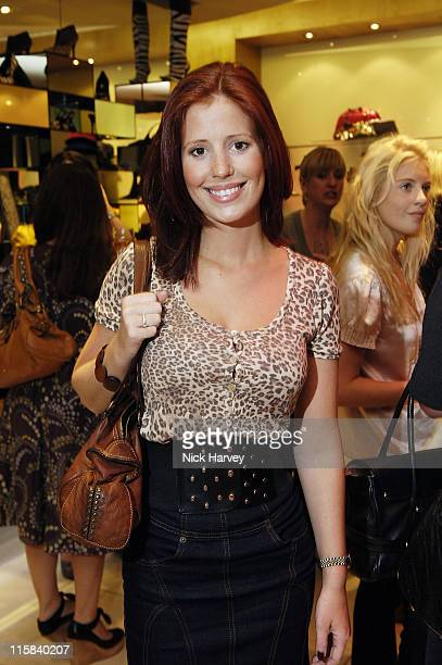 Amy Nuttall during Dune Flagship Store Launch in Covent Garden at Dune Flagship Store in London Great Britain