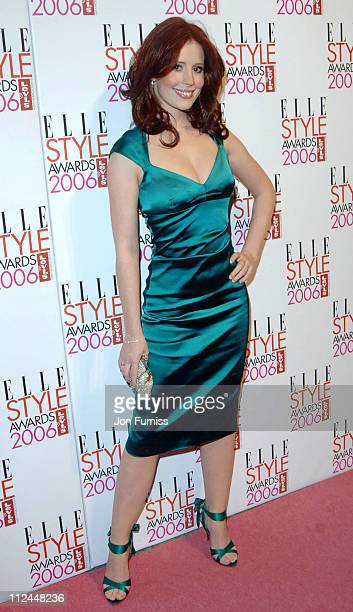 Amy Nuttall during Elle Style Awards 2006 Inside Arrivals at Old Truman Brewery in London Great Britain