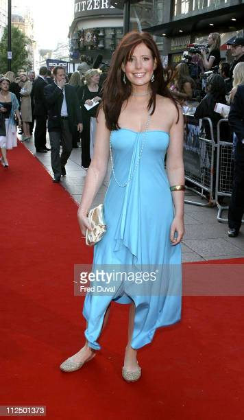 Amy Nuttall during 'Kingdom of Heaven' London Premiere at Empire Leicester Square in London Great Britain