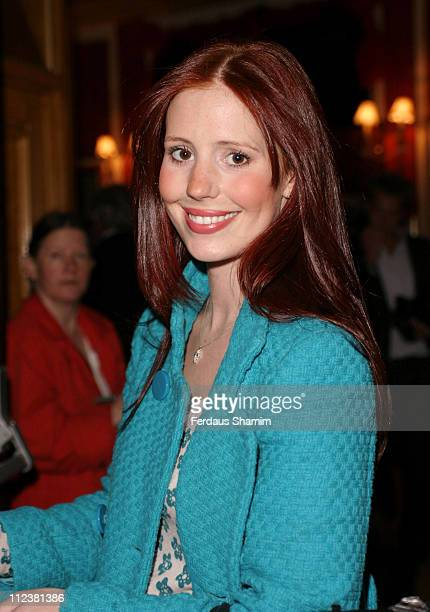 Amy Nuttall during National Youth Music Theatre Gala opening October 9 2005 at Piccadilly Theatre in London Great Britain