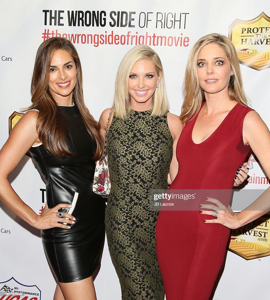 """premiere of esx productions' """"the wrong side of right"""" - arrivals"""