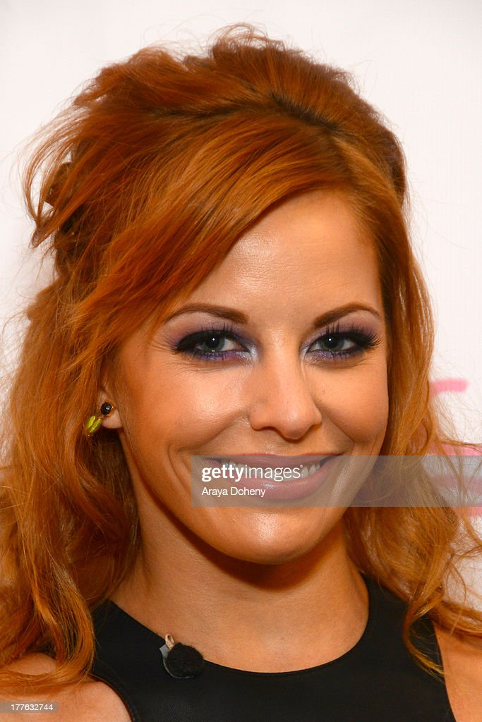 Amy Paffrath attends the NYX Cosmetics FACE Awards at Beautycon at Siren Studios on August 24, 2013 in Hollywood, California.