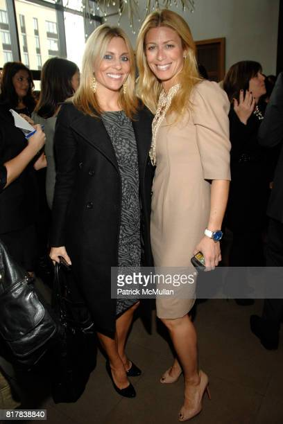 Amy Palmer and Jill Martin attend MARIE CLAIRE WOMEN ON TOP Awards at Gansevoort Park Avenue on October 28 2010 in New York City