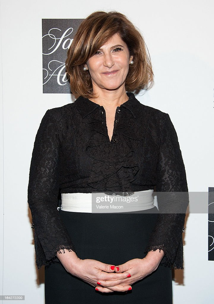 Amy Pascal arrives at 'An Evening' Benefiting The L.A. Gay & Lesbian Center at the Beverly Wilshire Four Seasons Hotel on March 21, 2013 in Beverly Hills, California.
