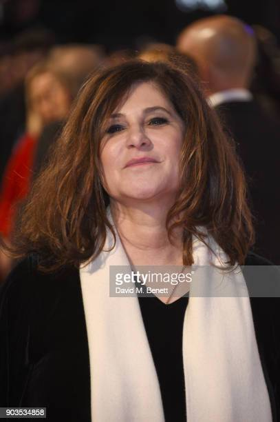 Amy Pascal attends the European Premiere of 'The Post' at Odeon Leicester Square on January 10 2018 in London England