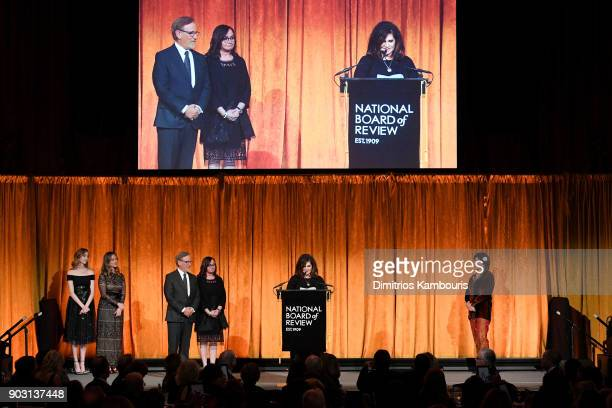 Amy Pascal speaks onstage during the National Board of Review Annual Awards Gala at Cipriani 42nd Street on January 9 2018 in New York City