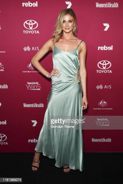 Amy Pejkovic attends the Women's Health 'Women In Sport' Awards on October 16 2019 in Sydney Australia